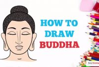 How to Draw Buddha in a Few Easy Steps: Drawing Tutorial for Kids and Beginners